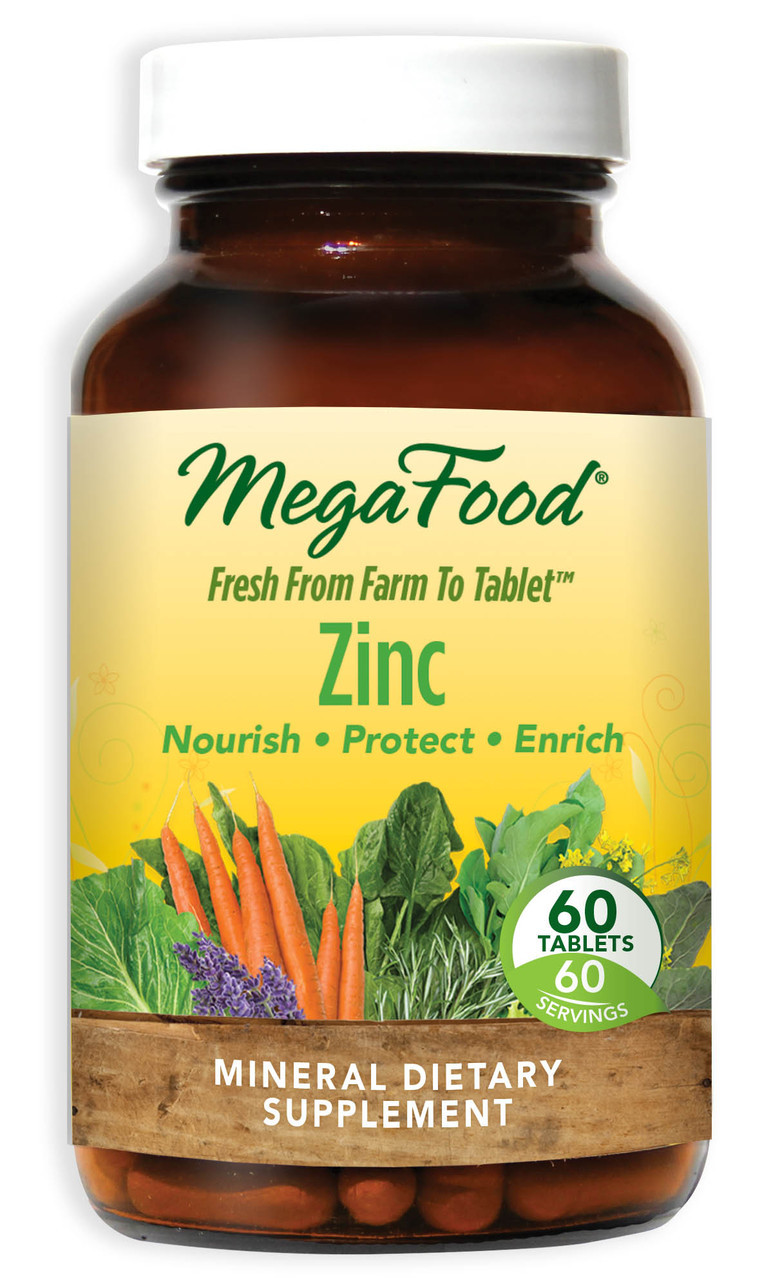 Buy Zinc 60 Tabs MegaFood Online, Natural Remedy, UK Delivery