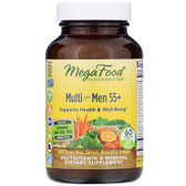 Buy Men Over 55 Whole Food Multivitamin & Mineral Iron Free 60 Tabs MegaFood Online, UK Delivery, No Iron Multivitamins