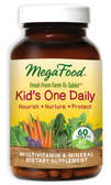 Buy Kid's One Daily 60 Tabs MegaFood Online, UK Delivery, Multivitamins For Children Wholefood Vitamins