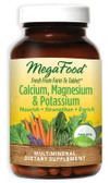 Buy Calcium Magnesium & Potassium 90 Tabs MegaFood Online, UK Delivery, Mineral Supplements