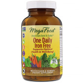 One Daily Multivitamins, No Iron, 90 Tabs MegaFood