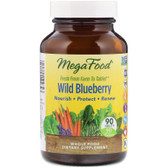 Buy Wild Blueberry 90 Tabs MegaFood Online, UK Delivery, Herbal Remedy Natural Treatment