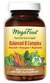 Buy Balanced B Complex 60 Tabs MegaFood Online, UK Delivery, Vitamin B Vegan Vegetarian