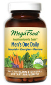 Buy Men's One Daily Iron Free 60 Tabs MegaFood Online, UK Delivery, No Iron Multivitamins