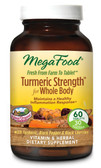Buy Turmeric Strength for Whole Body 60 Tabs MegaFood Online, UK Delivery, Vegan Vegetarian Wholefood Vitamins