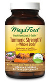Buy Turmeric Strength for Whole Body 120 Tabs MegaFood Online, UK Delivery, Vegan Vegetarian Wholefood Vitamins