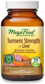 Buy Turmeric Strength for Liver 90 Tabs MegaFood Online, UK Delivery, Antioxidant Curcumin Liver Support