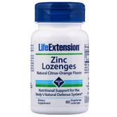 UK Buy Life Extension, Zinc, 60 Lozenges, Immune