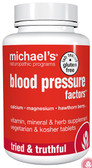 Buy Blood Pressure Factors 180 Veggie Tabs Michael's Naturopathic Online, UK Delivery, Cardiovascular Blood Pressure Support Formulas