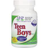 Buy Teen Boys Tabs Daily Multi-Vitamin 60 Tabs Michael's Naturopathic Online, UK Delivery, Vegan Vegetarian Gluten Free