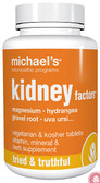 Buy Kidney Factors 120 Veggie Tabs Michael's Naturopathic Online, UK Delivery, Kidney Pain Relief Remedy Treatment Formulas