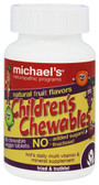 Buy Children's Chewables Natural Fruit Flavors 60 Chewable Veggie Tabs Michael's Naturopathic Online, UK Delivery, Gluten Free Multivitamins For Children