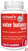 Buy Water Balance Factors 120 Veggie Tabs Michael's Naturopathic Online, UK Delivery, Diuretic Water Pills