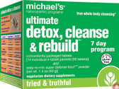 Buy Ultimate Detox Cleanse & Rebuild 7 Day Program Michael's Naturopathic Online, UK Delivery, Cleanse Detox Cleansing Detoxify