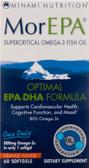 Buy MorEPA Optimal EPA-DHA Formula Orange Flavor 60 sGels Minami Nutrition Online, UK Delivery, EFA Omega EPA DHA