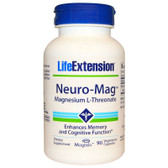 Life Extension, Neuro-Mag Magnesium L-Threonate 90 Caps, UK Shop