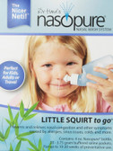 Buy Nasal Wash System Little Squirt To Go 1 Kit Nasopure Online, UK Delivery, Allergies Treatment Allergy Relief Remedy