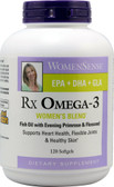 Buy WomenSense RxOmega-3 Women's Blend 120 sGels Natural Factors Online, UK Delivery,