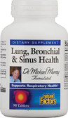 Buy Lung Bronchial & Sinus Health 90 Tabs Natural Factors Online, UK Delivery, Lung Bronchial Formulas Remedy Relief Treatment Respiratory Support
