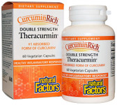 Buy CurcuminRich Theracurmin 60 Veggie Caps Natural Factors Online, UK Delivery