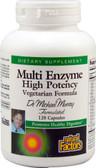 Buy Multi Enzyme High Potency Vegetarian Formula 120 Veggie Caps Natural Factors Online, UK Delivery, Digestive Enzymes