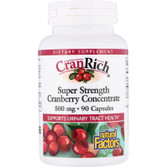Buy CranRich Super Strength Cranberry Concentrate 500 mg 90 Caps Natural Factors Online, UK Delivery, Herbal Remedy Natural Treatment
