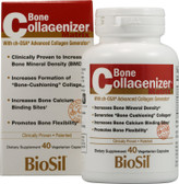 Buy BioSil Bone Collagenizer Matrix 40 Veggie Caps Natural Factors Online, UK Delivery, Bones Osteo Support Formulas
