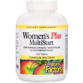 Buy Women's Plus MultiStart 180 Tabs Natural Factors Online, UK Delivery, Multivitamins For Women