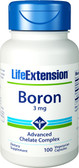 Life Extension Boron 3 mg 100 Caps, Bones, Joints