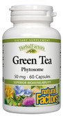 Buy Green Tea Phytosome 50 mg 60 Caps Natural Factors Online, UK Delivery, Phytosome