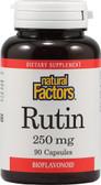 Buy Rutin 250 mg 90 Caps Natural Factors Online, UK Delivery, Antioxidant