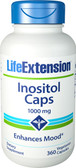 Life Extension Inositol Caps 1000 mg 360 Caps