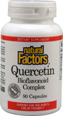 Buy Quercetin Bioflavonoid Complex 90 Caps Natural Factors Online, UK Delivery, Bioflavonoids