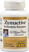Buy Zymactive Proteolytic Enzymes 90 Enteric Coated Tabs Natural Factors Online, UK Delivery, Enzymes