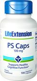 Life Extension PS (Phosphatidylserine) 100 mg 100 Caps, Brain Health