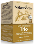 Buy Bee Propolis Trio 60 Veggie Caps NaturaNectar Online, UK Delivery, Bee Supplements