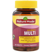 Buy Multi for Her With Iron & Calcium 90 Tabs Nature Made Online, UK Delivery, Multivitamins