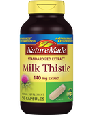 Buy Milk Thistle 140 mg Extract 50 Caps Nature Made Online, UK Delivery, Milk Thistle Silymarin Liver Cleanse Detox Cleansing