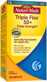 Buy Triple Flex 50+ Triple Strength 120 Caplets Nature Made Online, UK Delivery, Joints Bones Osteo Support Formulas Pain Relief Remedy