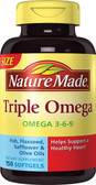 Buy Triple Omega 150 Liquid sGels Nature Made Online, UK Delivery, EFA Omega EPA DHA