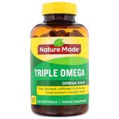 Buy Triple Omega 150 Liquid sGels Nature Made Online, UK Delivery, EFA Omega EPA DHA