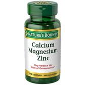 Calcium Magnesium Zinc 100 Caplets Nature's Bounty