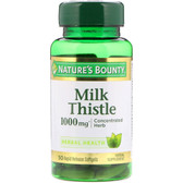 Buy Milk Thistle 1000 mg 50 sGels Nature's Bounty Online, UK Delivery, Milk Thistle Silymarin Liver Cleanse Detox Cleansing