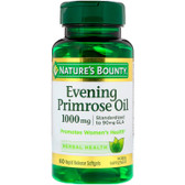 Buy UK Evening Primrose Oil 1000mg 60 Softgels, Nature's Bounty