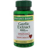 Buy Odorless Garlic 1000 mg 100 sGels Nature's Bounty Online, UK Delivery, Natural Immune