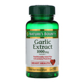 Buy Odorless Garlic 1000 mg 100 sGels Nature's Bounty Online, UK Delivery, Natural Immune
