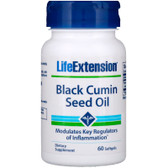 Buy Black Cumin Seed Oil 60 Softgels, Life Extension, UK Shop