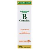 Buy B-Complex with B12 Sublingual Liquid 2 oz (59 ml) (59 cc) Nature's Bounty Online, UK Delivery, Liquid Vitamin B12