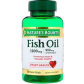 Buy Fish Oil 1400 mg 39 Coated sGels Nature's Bounty Online, UK Delivery, EFA Omega EPA DHA
