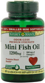 Buy Mini Fish Oil Premium Strength 90 Coated Mini sGels Nature's Bounty Online, UK Delivery, EFA Omega EPA DHA